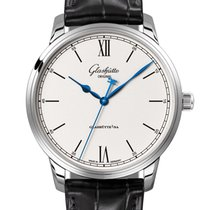 Glashütte Original Senator Excellence Steel 40mm Silver United Kingdom, Newry