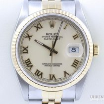 Rolex Datejust 36 mm Stahl Gold 18k Quickset Bicolor Chronometer
