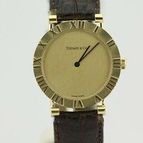 Tiffany 31mm Quartz tweedehands Atlas Goud