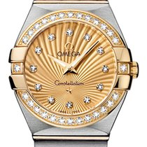 Omega Constellation Gold/Steel 27mm Champagne