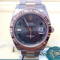 Rolex Datejust II Gold/Steel 41mm Brown No numerals United Kingdom, Wilmslow