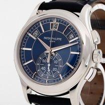 Patek Philippe Annual Calendar Chronograph Platin 42mm Blau Deutschland, München