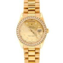 Rolex Day-Date 36 Yellow gold 36mm No numerals United States of America, New York, New York