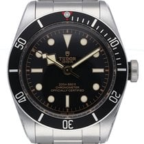 Tudor Chronometer 41mm Automatik 2018 neu Black Bay (Submodel) Schwarz