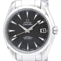 Omega Seamaster Automatic Stainless Steel Men's Sports Watch...