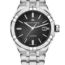 모리스 라크로아Calypso,새 시계/미 사용,정품 박스 있음, 서류 원본 있음,42 mm,스틸