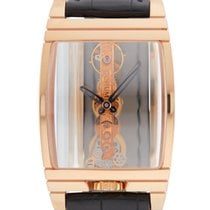 Corum 31mm Manual winding pre-owned Golden Bridge Transparent