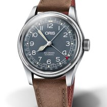 Oris 01 754 7741 4065-07 5 20 63 Steel Big Crown Pointer Date 40mm new