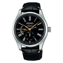Seiko Presage Steel 40.50mm Black Roman numerals United States of America, Florida, Tarpon Springs