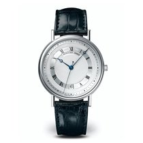 Breguet 35.5mm Automatic pre-owned Classique Silver