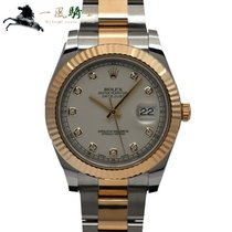 Rolex Steel Automatic 41mm pre-owned Datejust II