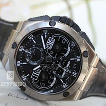 IWC Ingenieur Perpetual Calendar Digital Date-Month Титан 46mm Чёрный
