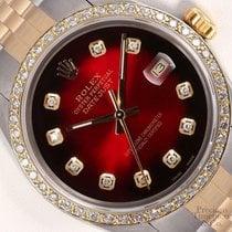 Rolex Datejust Steel 36mm Red