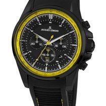 Jacques Lemans Sport Liverpool new Quartz Chronograph Watch with original box and original papers 1-1799S