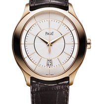 Piaget Rose gold Automatic Silver 43mm new Gouverneur