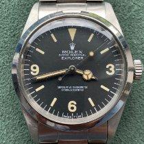 Rolex Explorer Stahl 36mm Schwarz Arabisch Österreich, Graz