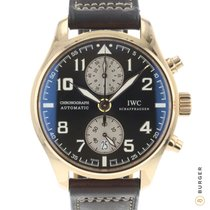 IWC Pilot Chronograph Or rose 43mm Brun Arabes