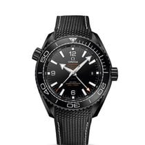 Omega Seamaster Planet Ocean Ceramic 45.5mm Black Arabic numerals