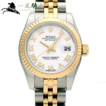 Rolex Lady-Datejust Zeljezo 26mm Bjel