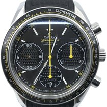 Omega Speedmaster Racing pre-owned 40mm Grey Chronograph Rubber