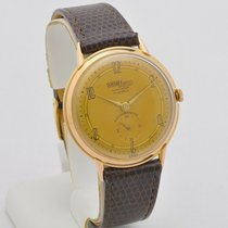 Technos Or rose 37mm Remontage manuel occasion