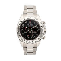 Rolex Daytona White gold 40mm Black Arabic numerals United States of America, Pennsylvania, Bala Cynwyd