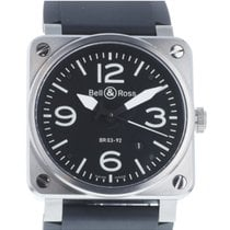 Bell & Ross Steel Automatic 42mm pre-owned BR 03
