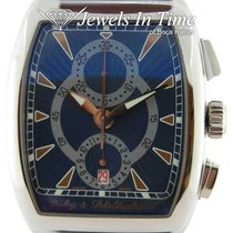 Dubey & Schaldenbrand Steel Automatic Blue 38mm pre-owned