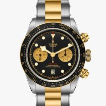 Tudor Black Bay Chrono Gold/Steel 41mm Black No numerals