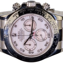 Rolex Daytona White gold 40,00mm Mother of pearl Arabic numerals