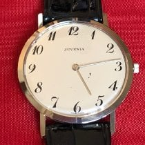 Juvenia White gold 33mm Manual winding Juvenia ultraslim new