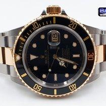 Rolex Submariner Date Acero y oro 40mm Negro Sin cifras España, Barcelona