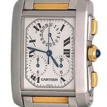 Cartier W51004Q4 Steel Tank Française 28mm pre-owned United States of America, Texas, Dallas