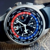 Girard Perregaux WW.TC World Time Chronograph 43mm Titanium