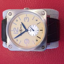 Bell & Ross White gold Manual winding Champagne Arabic numerals 39mm pre-owned BR S
