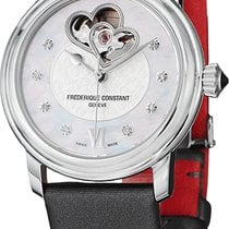 Frederique Constant Ladies Automatic World Heart Federation Acier Argent