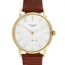 Patek Philippe 3425 Calatrava Mens Circa 1960 in Yellow Gold -...