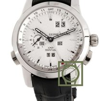 Ulysse Nardin Platinum Automatic Silver 43mm new Perpetual Manufacture