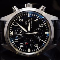 IWC 2008 Pilot Chronograph, Steel, IW3717001, Box & Papers