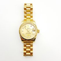 Rolex Oyster Perpetual Ladies Datejust  179178 Very Good...