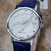 Longines Flagship Swiss Made 1960s Men's Manual Stainless...