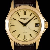 Patek Philippe Calatrava Tiffany & Co Gold