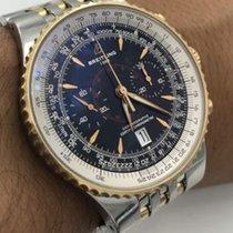 Breitling Navitimer Montbrillant Legende C23340 18k Gold &...