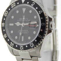 ロレックス (Rolex) Mens GMT-MASTER II Stainless Steel Mens Watch &...