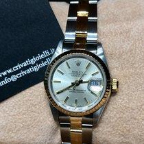 Rolex Lady-Datejust Acero y oro 26mm Plata Sin cifras
