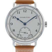 Hamilton Khaki Navy Pioneer H78719553 Watch with Leather...