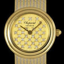 Chopard Ladies Dress Watch Gold & White Gold 4060-4
