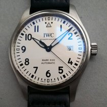 IWC Pilot Mark XVIII Aut. White Dial (Full set)