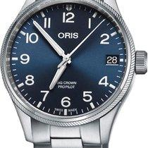 Oris Big Crown ProPilot Date Steel 41mm Blue Arabic numerals