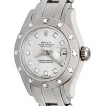 Rolex 80319 Or blanc Lady-Datejust Pearlmaster 28mm occasion